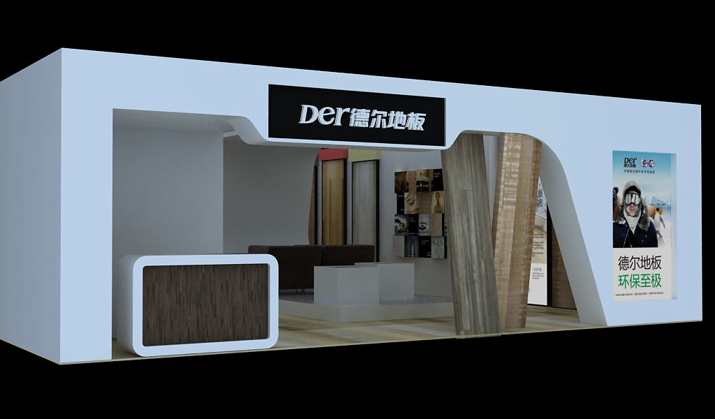 江西赣县哪里有会展厅设计公司,找逸峰展柜设计-建材图片