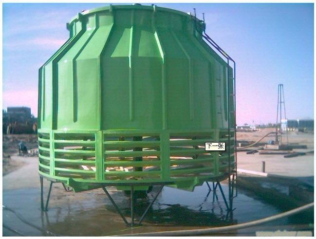 圆形逆流式玻璃钢冷却塔产品原理