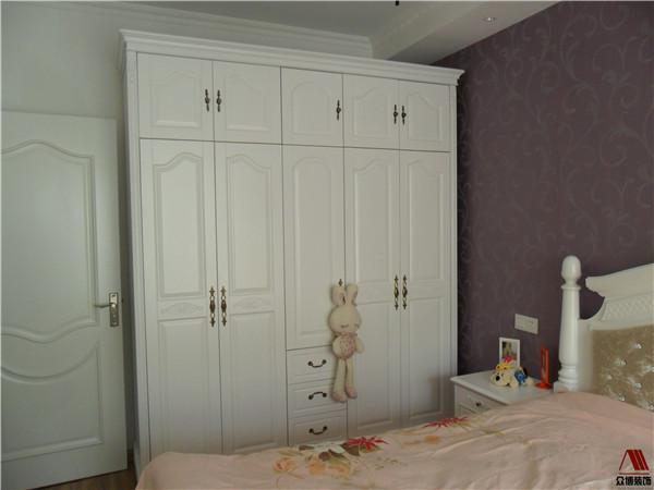 户型90平小三房南京家装装修效果案例图样板效果图现代简约风格高清图片