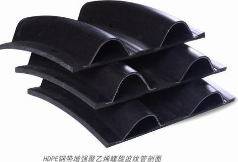咸阳农业输水钢带增强PE管生产厂家-建材-商讯