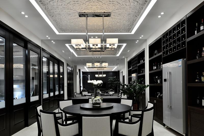5月南京别墅装修样板房设计实景展