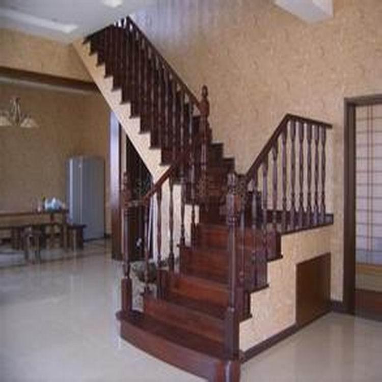 正兴 德美克 楼梯 实木楼梯 安装