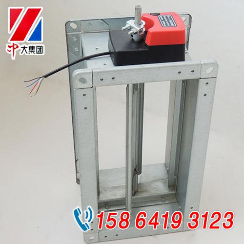供应70度防火阀 1200*1000常开型防火调节阀 通过3c认证图片