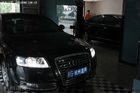 杭州最专业的奥迪汽车音响改装店高清图片