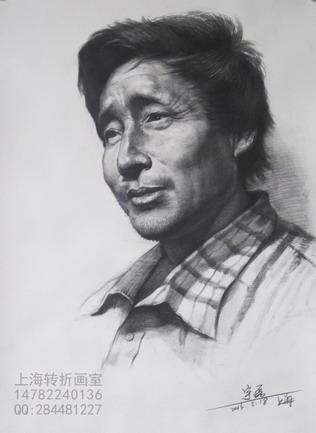 上海素描画室/上海高考素描头像/上海联考素描