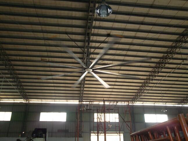 东莞大型风扇厂家丨广州荔湾区7.3米超大型降温风扇丨佛山工