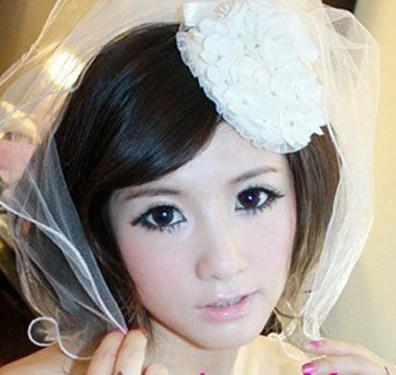 韩式婚纱照新娘发型|2018新娘发型图片
