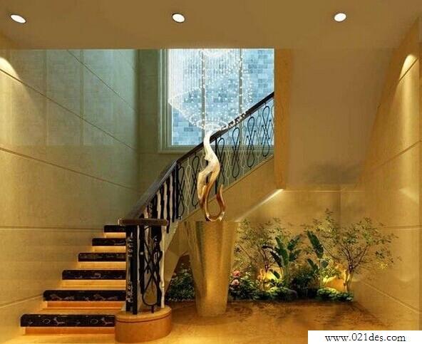 如何利用室内楼梯增加室内风水景观