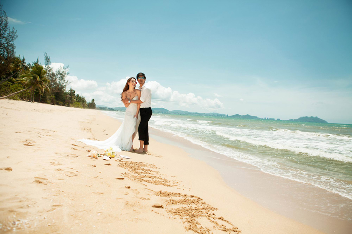青岛那里是适合拍婚纱照的地方