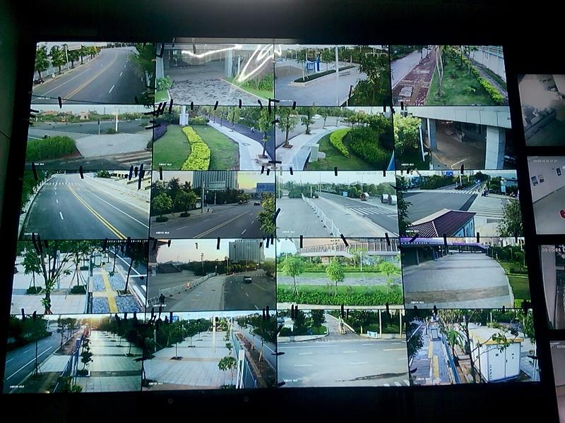先将一个完整的视频图像分割成m