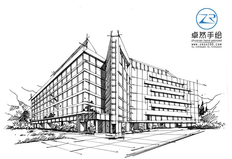 昆明专业的建筑设计手绘培训中心——卓然