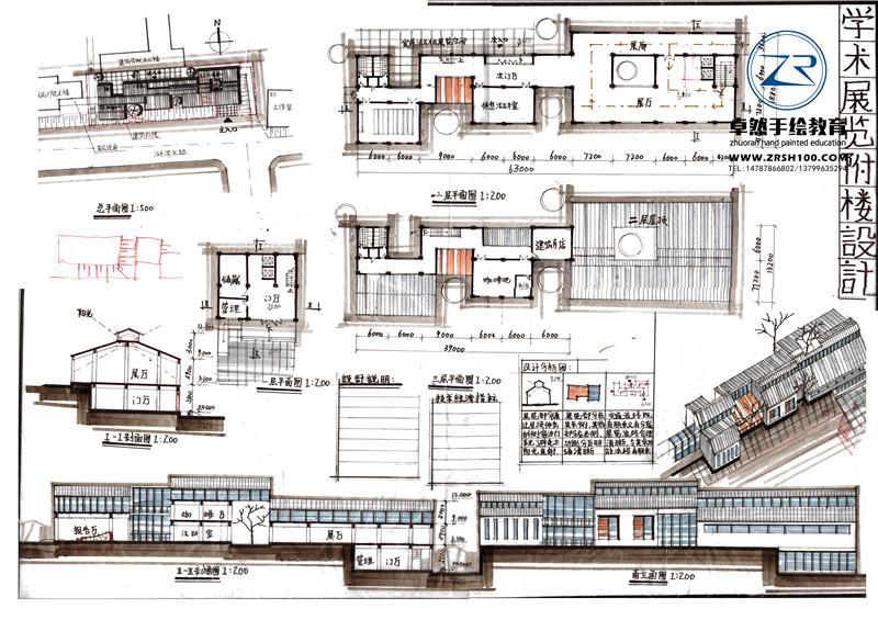 昆明城市规划手绘培训中心,专业打造大师级别来卓然.