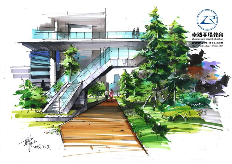 建筑景观手绘培训机构专业教学值得拥有
