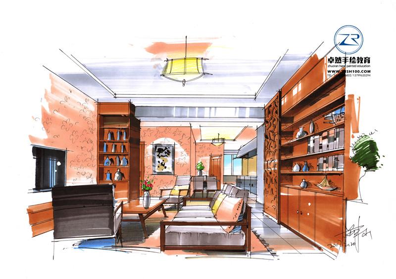 云南室内设计手绘培训学校好就业吗?
