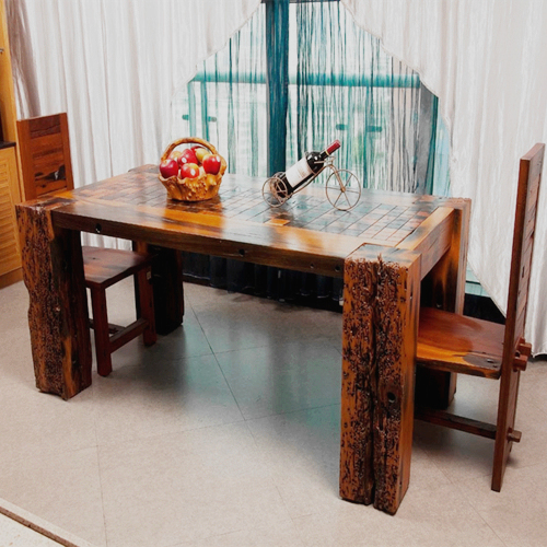 中山老船木厂家有哪些他们家的家具便宜吗