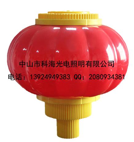 灯笼里面灯怎么安装?灯杆装饰串灯笼如何固定?