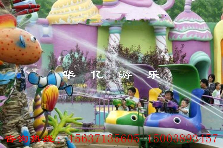 欢乐水世界,儿童游乐设备欢乐海洋岛为这个炎热的夏季送来丝丝清凉.