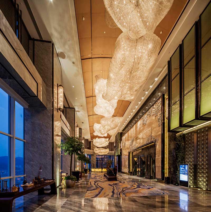 酒店室内照明设计--烟台万达酒店    图五图片