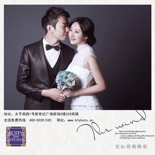 南京秋天外景婚纱照发型如何做漂亮图片