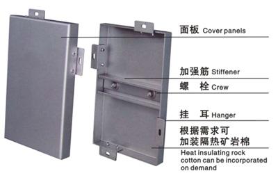 铝单板产品构造