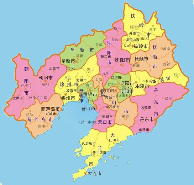 珠海市行政区地图