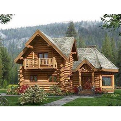 重木结构木屋别墅