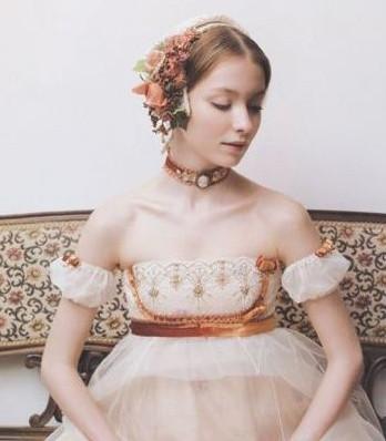 唯美新娘造型图片