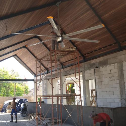 工业吊扇佛山厂家丨超大型节能吊扇肇庆安装丨广州从化区6米直
