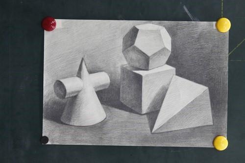 用几何形体的方式来观察