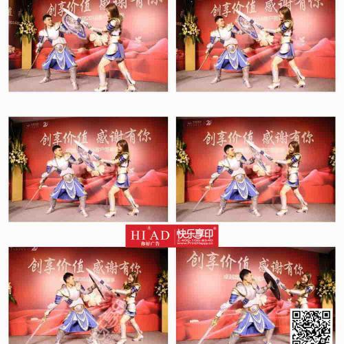 北京摄影技术一流的子弹时间拍摄公司,快乐享印画质优越