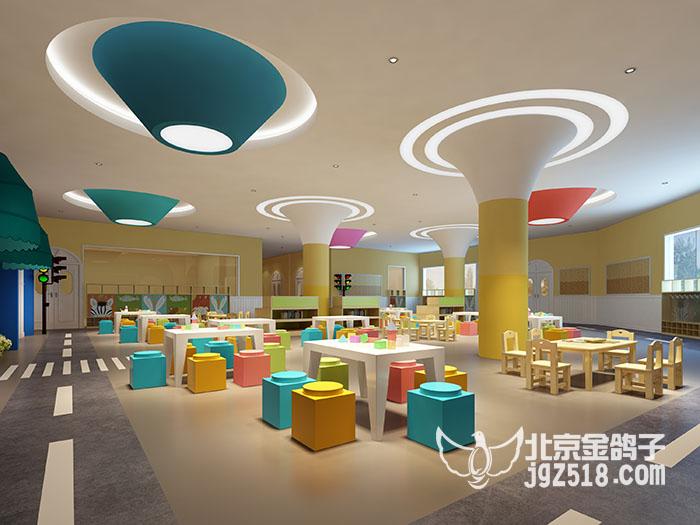 北京幼儿园外观设计价格,推荐金鸽子装饰