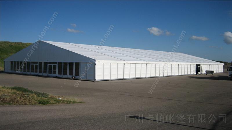 深圳罗湖大型物流仓库篷房 罗湖铝合金硬体墙欧式大棚