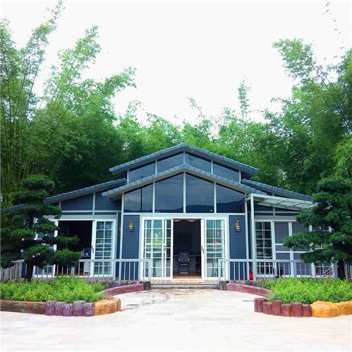 铝合金别墅钢结构别墅集装箱房屋营地建造广东恒基为你建!