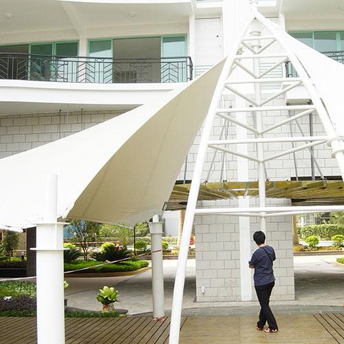 珠海斗门区etfe透明膜结构厂家直销 优惠到家