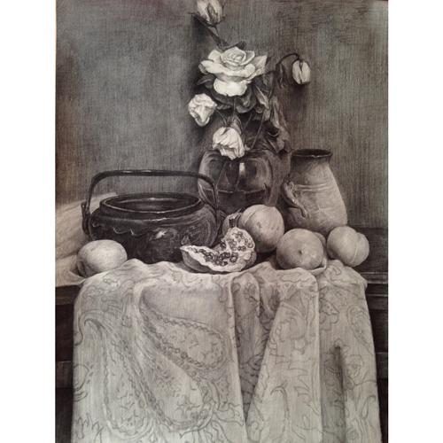 成人油画兴趣班:结构素描,明暗素描,水粉静物,油画理论,油画风景.