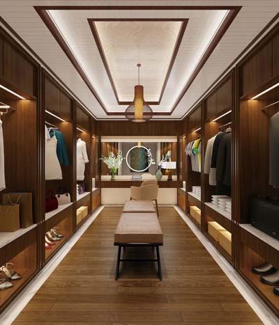 衣帽间中式风格,乐奇新中式集成吊顶——枫林雅木