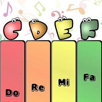 赏,认识简单的五线谱知识.   11-20课时:学习四分音符,八分音符