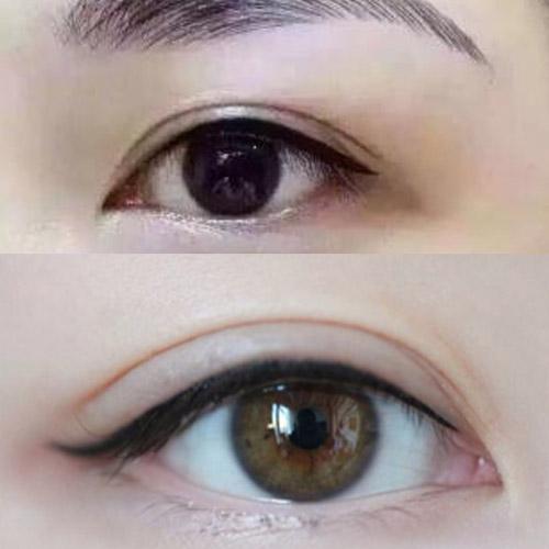 纹绣过程中设计眉形要怎么样做郑州半**