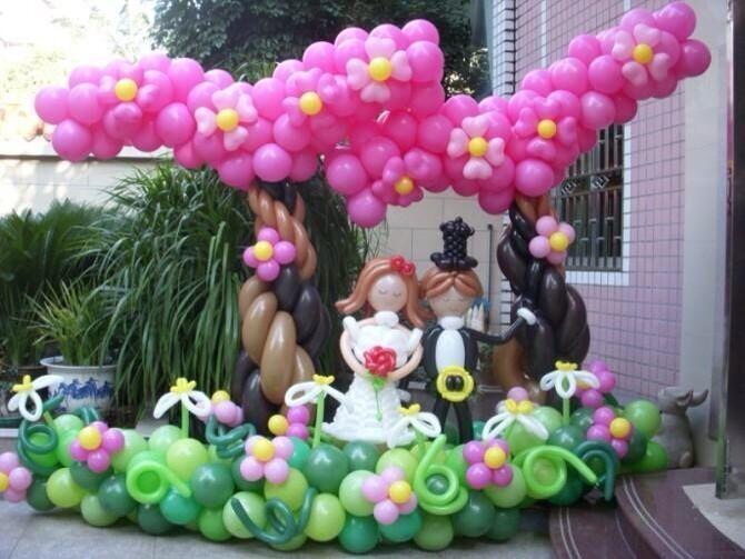 江苏南京创意气球培训初级教学