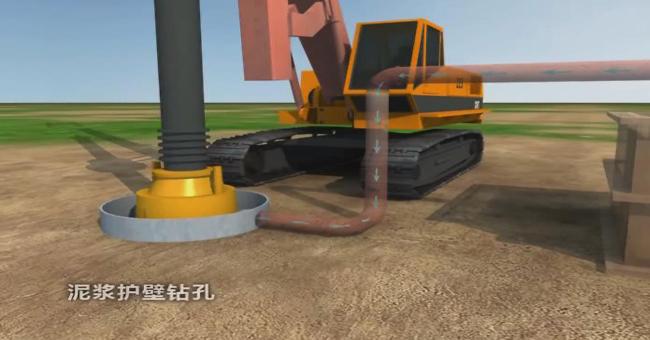 高速公路桥梁施工动画制作