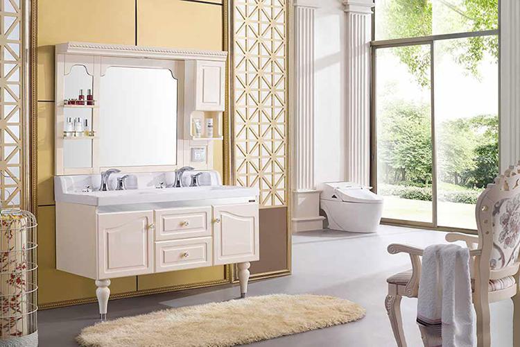 你知道 厦门浴室柜定制 整体 尺寸吗? 厦门浴室柜定制设计 尺寸应该与卫生间的空间大小和居住者的使用来决定。一般来说,整体浴室柜高度应该是在80~85厘米之间,长度应该是80~100厘米之间,宽度应是45~50厘米之间。如果卫生间空间较大或较小, 厦门浴室柜定制厂家 也可以适当地调整尺寸大小,应与居室空间大小相匹配。如追求大气、高贵的欧式卫生间可将整体浴室柜长度增长至120厘米:如果是造型比较复杂的整体浴室柜,在长度上也可适量加长。