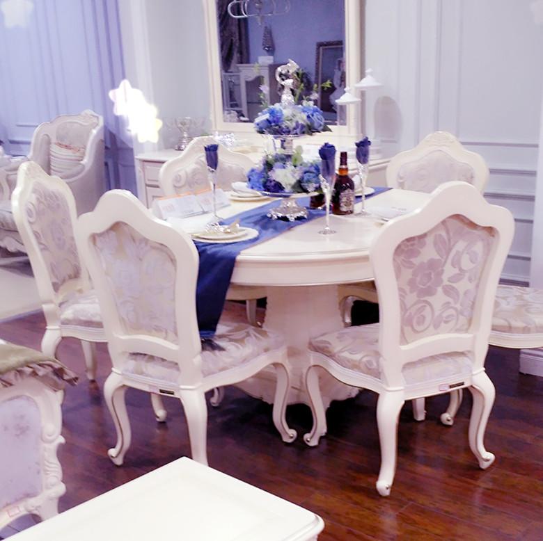 全友品牌欧式餐桌椅