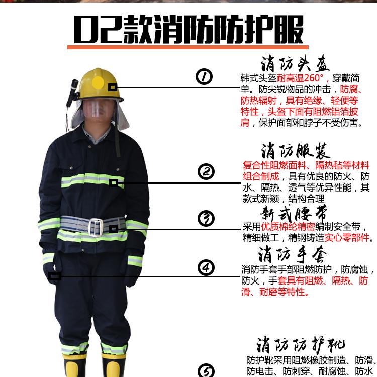 消防防护服厂家谈消防防护服特点,让消防人员