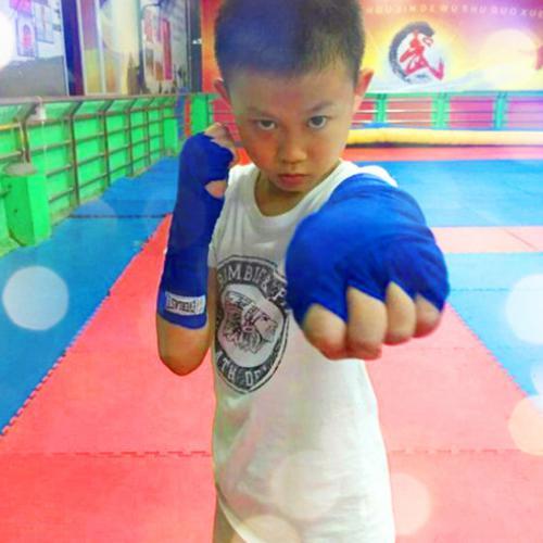 广州白云区江夏少儿搏击,锻炼孩子强健的身躯