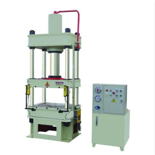 技术特点:本系列液压机适合于可塑性材料的压制工艺,如冲压,弯曲