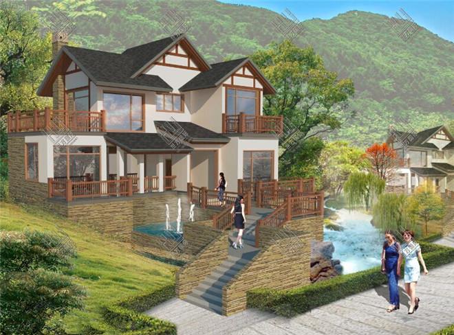 是别墅群整体设计有十分丰富的业务经验,不管您是喜欢经典的中式风格图片