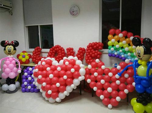 气球造型学习|气球装饰培训|魔术气球培训|筑展气球培训手把手教学
