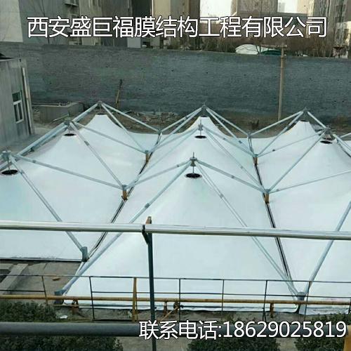 甘肃屋顶膜结构,ETFE,煤棚厂家