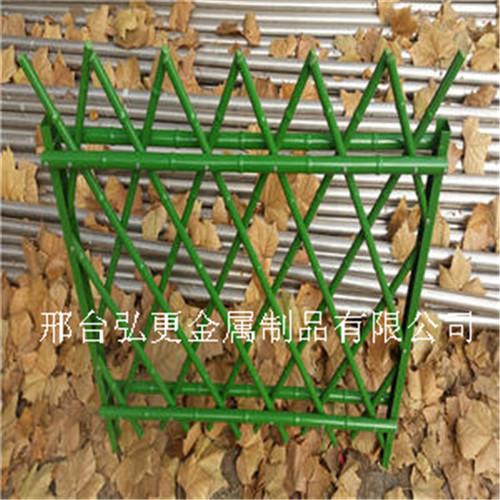 手工制作竹子围栏