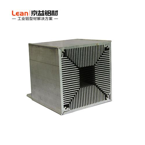 高密尺散热铝型材